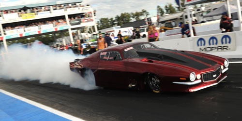 Another veteran racer on the comeback trail is Calgary's Ricky Distefano in a turbocharged '70 Camaro