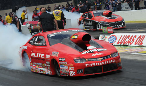 Today's current look of NHRA Pro Stock cars will morph forward beginning in 2016.