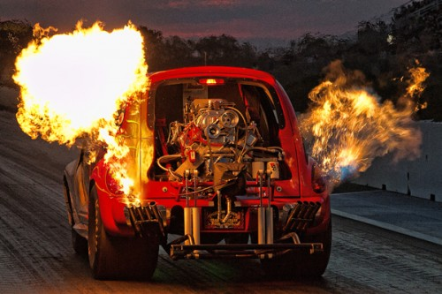 Cool Flames and wheels up!
