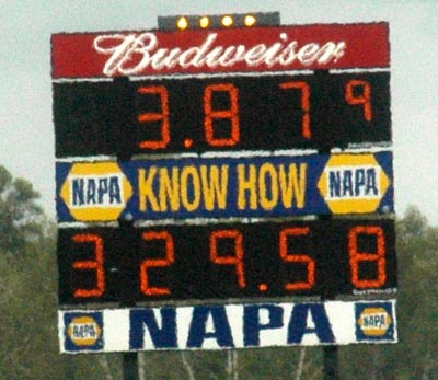Matt Hagan ran the quickest and fastest ever in fuel FC racing!