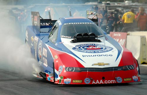 Robert Hight's crucial NHRA FC victory at BIR - was his first win of the season