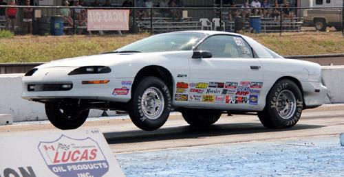 US-based racer Peter Oliviero scored in the Stock/SS Combo on Sunday