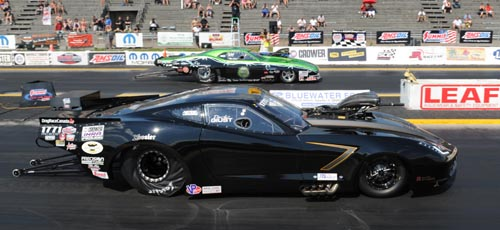 (The Crower Pro Mod Final round featured two Canadian racers)