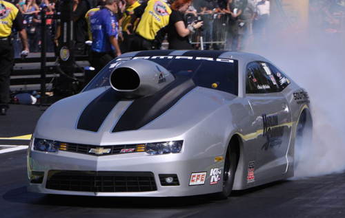 By winning 2X in 2-weeks - Texan Chris McGaha has moved up to 3rd in NHRA Pro Stock points.