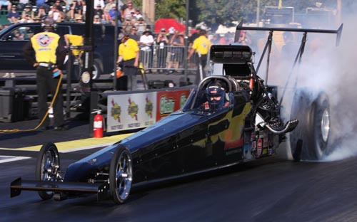 BC-based powerhouse TAD racer Shawn Cowie qualified #4 with a 5.309 secs and went to the semi-final round