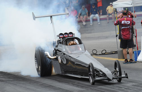"""Carl """"Big Dog"""" Spiering has been racing this supercharged TD on a limited basis this summer"""