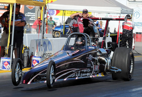 Dan and Travis Gueguen also race this potent nitrous-injected TD