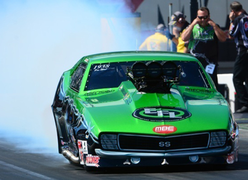 Ontario's Eric Latino had his best placing yet in NHRA Pro Mod event competition.
