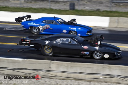 PM racer Derrick Hawker was a serious threat to win at the USDRS final round