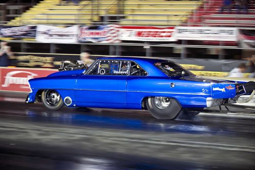 Oakville's Tony Presto was one of 8 cars from Canada in the Outlaw 10.5 class.