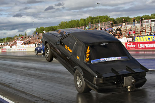 Cory Parson's PSP Racing Ford Mustang - takes flight!