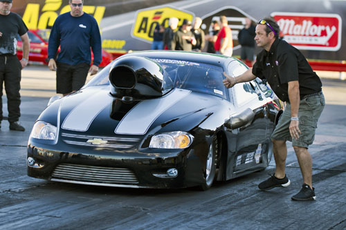 Fred DeJonge paced the massive 64-car TS field with a 6.23 secs #1 qualifying effort.