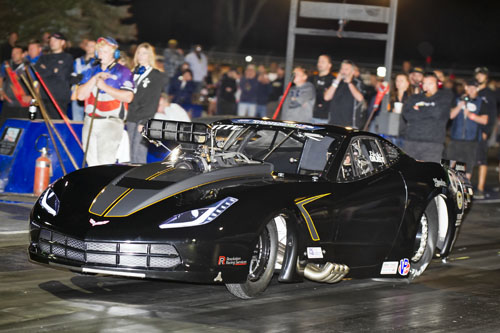 "Paolo Guist continued his his impressive rise in Pro Mod racing by winning the prestigious ""Shakedown at the Summit"" event in Ohio"