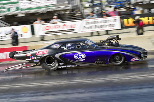 Melanie Simmons-Salemi (who is originally from Orillia ON) entered her awesome new G-Force Race Cars Firebird in Pro Mod