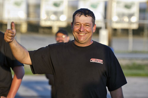 Ottawa area racer Paolo Guist emerged victorious in Pro Mod racing his C7 Corvette!