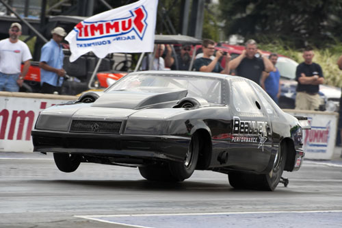 Quebec's Jerome Beaulieu raced his super trick turbocharged Mopar in TS