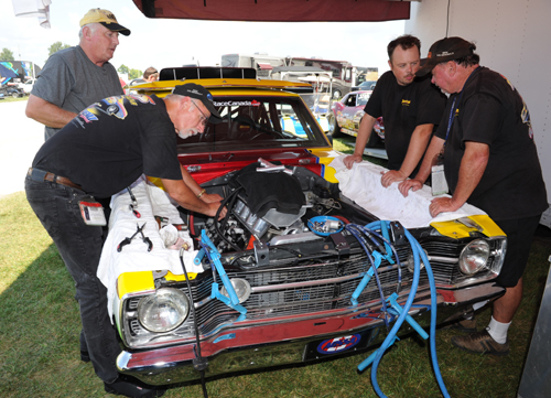 The very formidable New Brunswick-based Howes Racing Hemi Dart went to the semi-final round in the Mopar Hemi Challenge event.