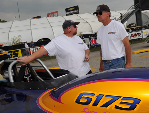 """Ken Mostowich and his right hand man Charlie Marsh took their Calgary-based Corvette all the way to the S/G """"final four""""."""