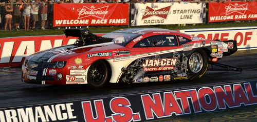 Western NY's Mike Janis went to the PM final round to enhance his points lead.