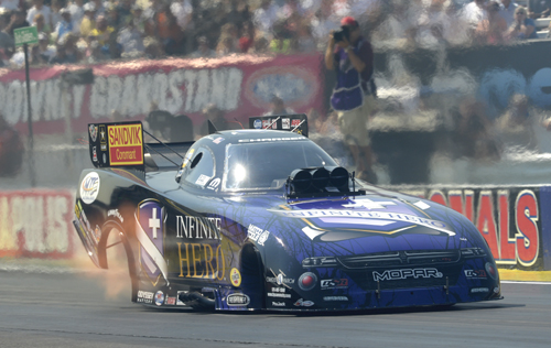 Jack Beckman had his most lucrative weekend ever in Funny Car racing.