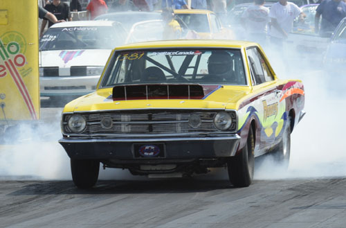 New Brunswick's Mark Howes was a semi-final round finisher at 2015 Mopar Hemi Challenge
