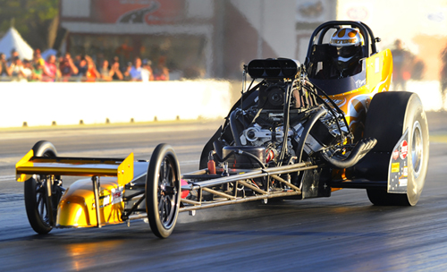 NHRA's 2015 Nostalgia Top Fuel points leader Tony Bartone continued his winning ways at New England.