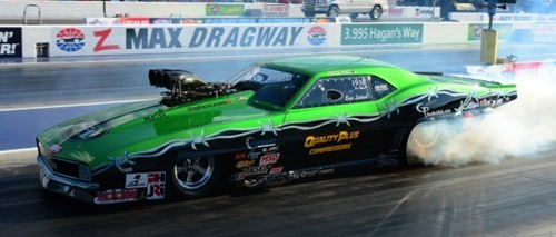 Eric Latino had his best showing yet in NHRA national event competition.