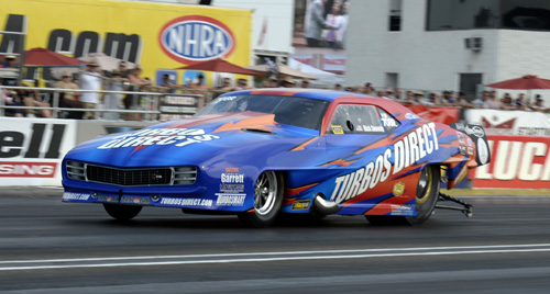 California's Rick Snavley was an unexpected winner in Pro Mod at Indy last weekend.