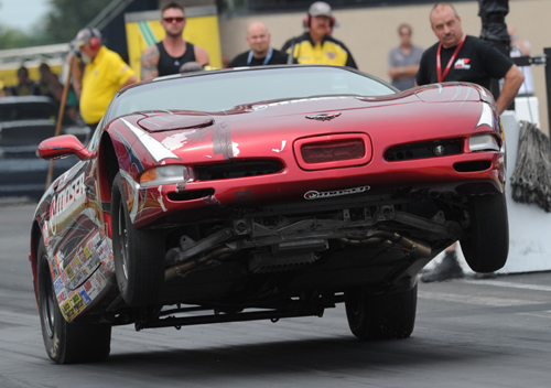 Britt Cummings won in Stock with his high-flying C/SA 2000 Corvette
