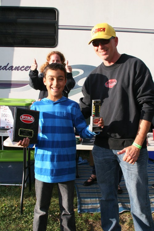 Young Gun Ryan Williams takes Runner Up in Jr. Dragster and Best Appearing as well