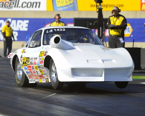 In Competition eliminator - Nova Scotia's Allyn Armstrong broke through to win his first NHRA national event title