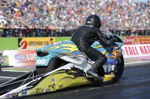 Drag racing most famous alligator farmer won in Pro Stock Motorcycle