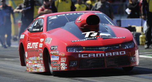 With her win Erica Enders-Stevens has moved to the cusp of a 2nd straight NHRA Pro Stock Championship