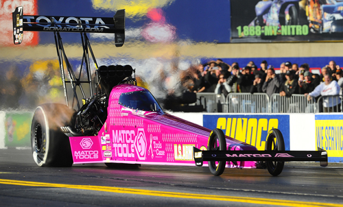 Antron Brown scored his career high 7th win of the season in Top Fuel.
