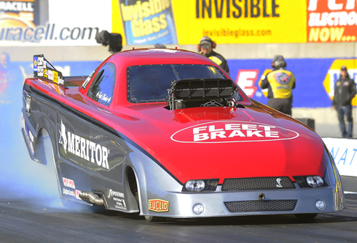 Paul Noakes advanced to the TAFC final round at NHRA Reading for the 3rd time in his career