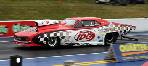 Wily Rickie Smith held on to win the overall PDRA Pro Nitrous points battle.