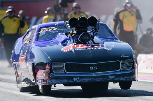 Certainly one of the event's bigger surprises was the DNQ for usually hard running Kenny Lang's Winnipeg based Pro Mod Camaro.