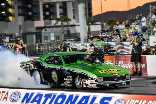 Ontario's Eric Latino (from Whitby) was the only Canadian racer to qualify in the event's Pro Mod program.  Eric had a best run of 5.896 secs = #9.