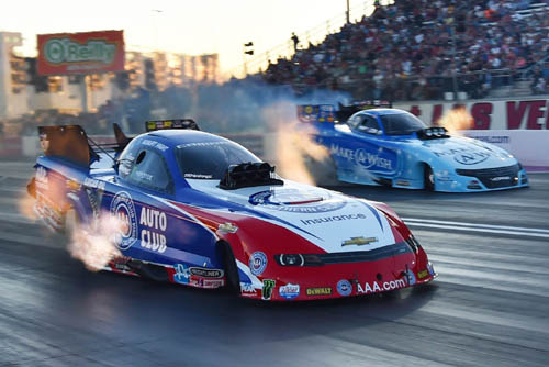 Robert Hight beat Tommy Johnson Jr in the fuel FC final