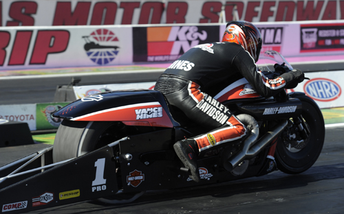 Pro Stock Motorcycle went to Andrew Hines