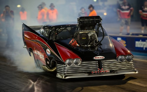 Australia's  über popular Top Doorslammer class represents a perfect fit within IHRA history.