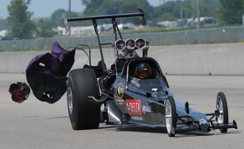 Prior to going Pro - Melanie had some very successful events racing in the Top Dragster category.