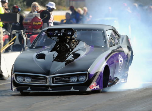 Melanie debuted and raced this state of the art G-Force built Firebird