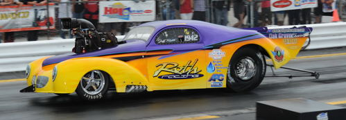 Roth Racing's previous Pro Mod Willys was one of the most popular cars within Canada's PMRA and USDRS circuits