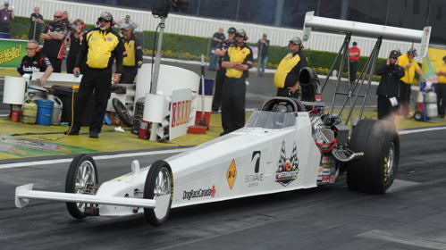 Canada's Don St. Arnaud holds the TAD at an all time fast 285.35 mph