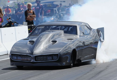 Jeff Doyle's new Firebird eclipsed the 250 mph barrier during it's first season experience.