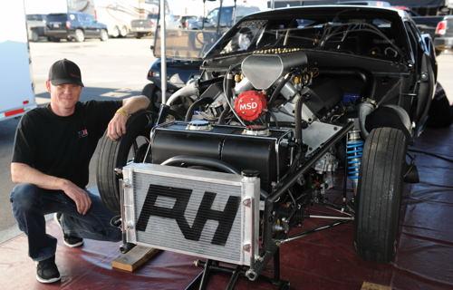 Jeff Doyle with his RH Race Cars-built Firebird
