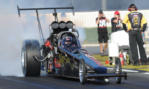 BC-based TAD stalwart racer Shawn Cowie collected his 5th NHRA national event title win!