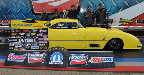Glen Kersunky's claimed the WDRL's biggest win of the season last year during the IHRA Mopar Rocky Mountain Nationals