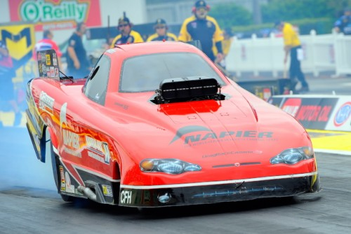 Tyler Scott and the Kardiac Kids had another promising event effort.  After qualifying #13 - they did run a very strong 5.639 secs while losing in round #1